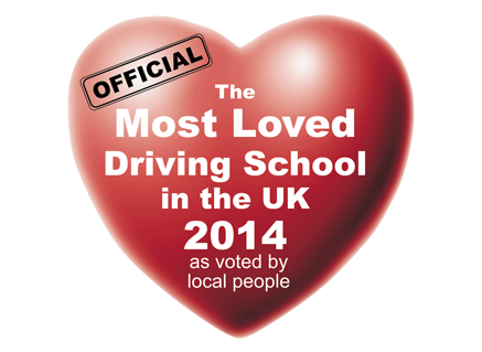 UK's Most Loved Driving School 2014