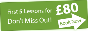 First 5 lessons only £80