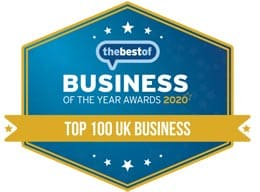 Best Of Business Awards - Top 100 2020