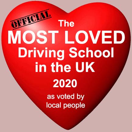 UKs Most Loved Driving School 2020