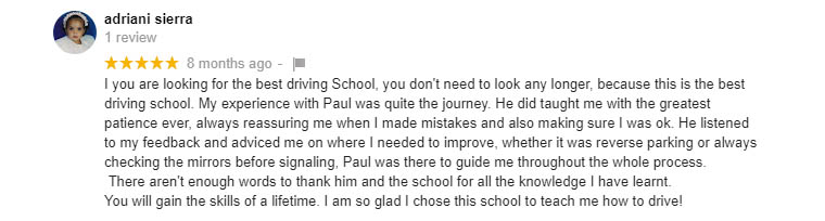 willenhall driving lessons review 1