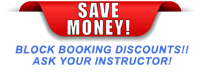 Save money on learning to drive by block booking